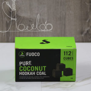Fumari Pure Coconut Hookah Coal 112 Cubes 1 kg